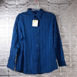 NWT Claiborne Striped Dress Shirt Size XL